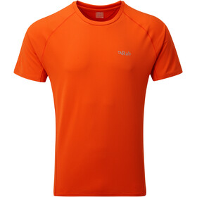 Rab Force T-shirt Homme, firecracker